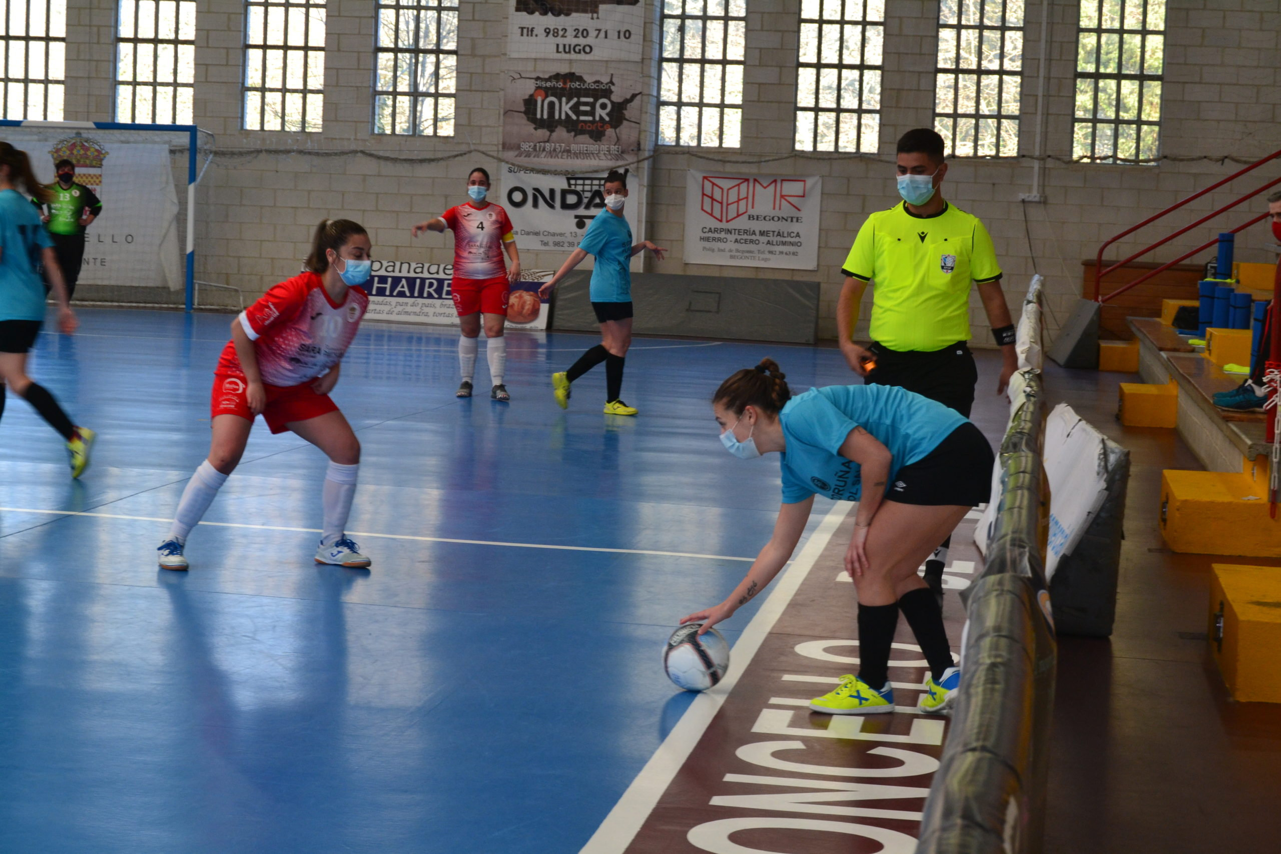 Preferente Femenina – 5 Coruña vence en la primera jornada al Begonte FS