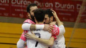 Noia Portus Apostoli vence por la mínima al El Ejido Futsal ( 3 – 4 )