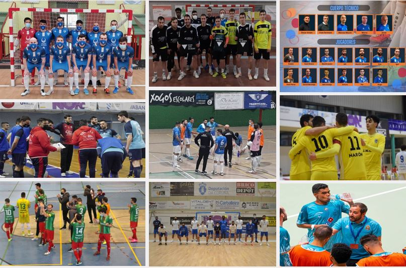 Los equipos gallegos de Segunda ¨B¨ inician la segunda fase de la liga