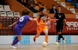 Peque  a 47 segundos del final consigue un punto para el  Burela P. Rubén ante el AD Alcorcón  ( 3 – 3 )