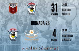 O Parrulo visita la cancha del Fútbol Emotion Zaragoza antes del gran derbi gallego