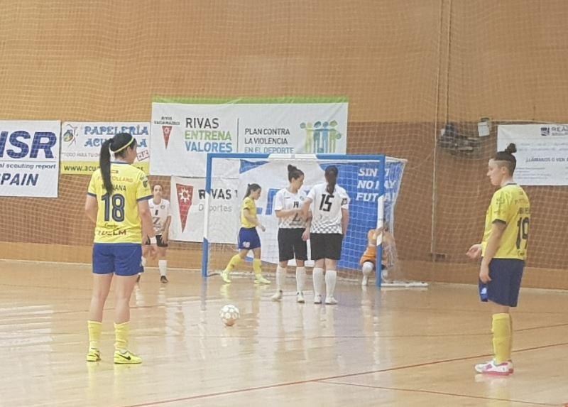 CD Salesianos Puertollano cae en su visita a la cancha del Rivas Futsal (4-2)