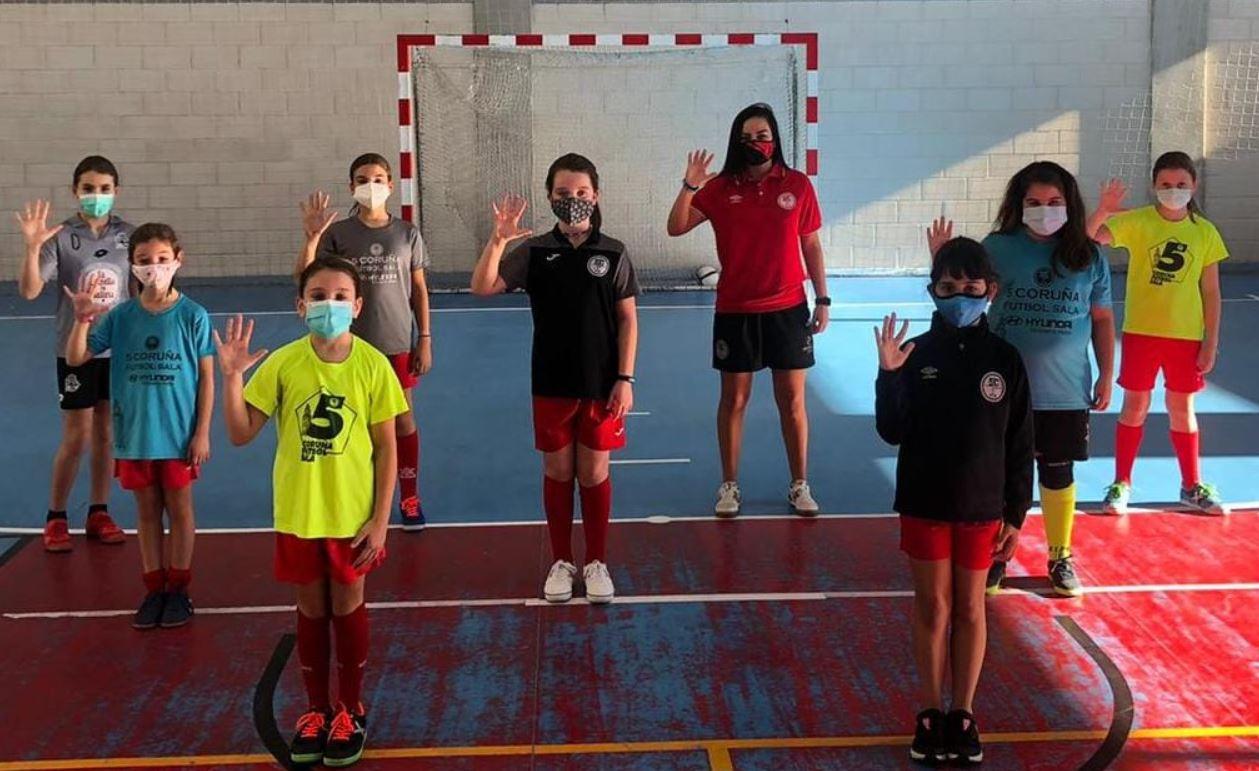 Fútbol Sala femenino – La primera concentración de la Liga Gallega Alevin será organizada por el 5 Coruña Fútbol Sala
