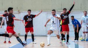 Miguel Caeiro mejor jugador del partido Café Candelas O Parrulo vs CD Segosala
