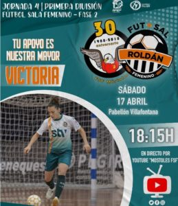 El STV Roldán viaja a Móstoles donde se enfrentará a un rival directo