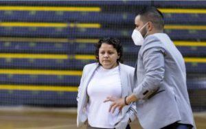 Cristina Gimeno ( Teldeportivo FSF)             ¨ ante el Xaloc Alacant no podíamos fallar ¨