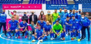 Viña Albali Valdepeñas se proclama campeón del XVI Trofeo Junta de Castilla La Mancha ante un buen Soliss Talavera