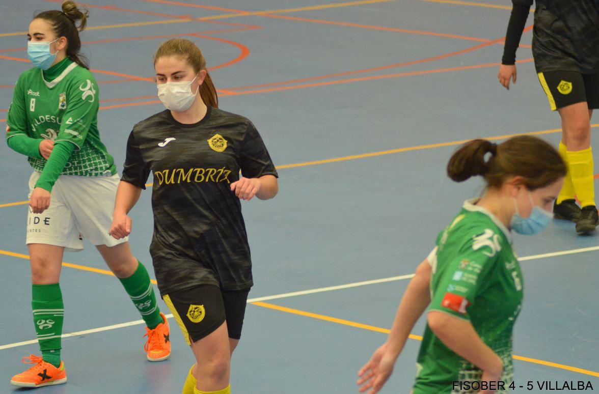 Preferente Femenina – Fisober FSF deja escapar tres puntos ante el Vilalba Fútbol Sala  ( 4 – 5 )