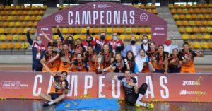 Burela Pescados Rubén consigue  un nuevo titulo para el Fútbol Sala femenino gallego