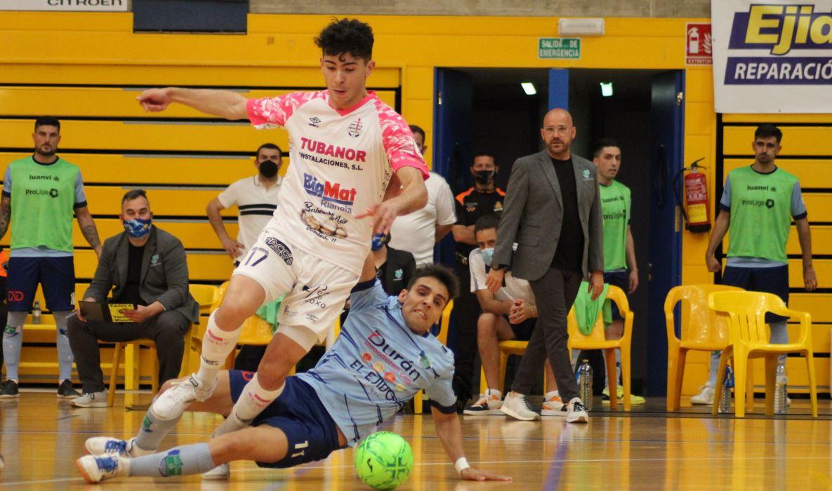 Noia Portus Apostoli cae ante el El Ejido Futsal en el primer partido de la eliminatoria de ascenso