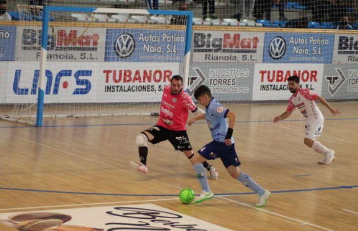 ¨ solo vale ganar ¨ la lección del Noia Portus Apostoli ante el Ejido Futsal