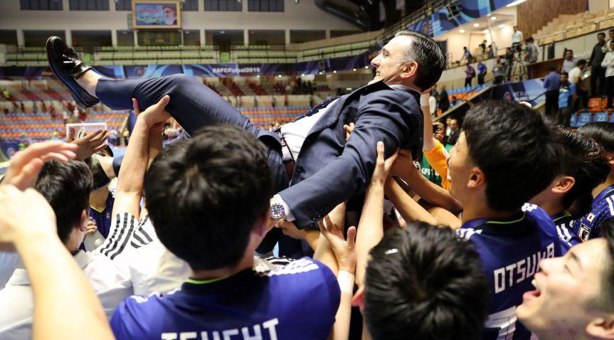 Bruno Garcia disputará su segundo mundial con la Selección de Japón