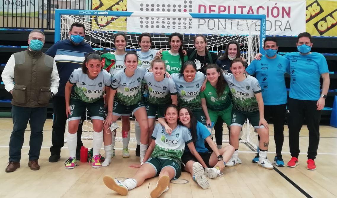 Raúl Jiménez, entrenador del Marin Futsal, analiza el Play Off ante el Txantrea ¨ llegamos en las mejores condiciones al partido ante el Txantrea ¨