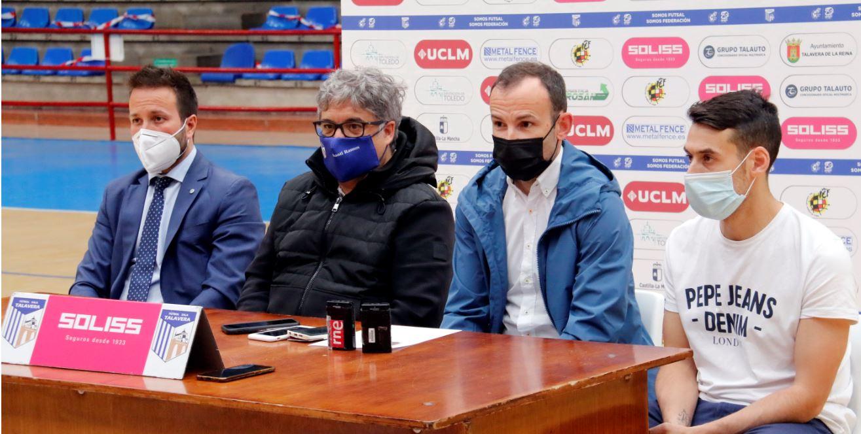 Juanma Marrube, acento gallego para el banquillo del Soliss FS Talavera