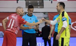 Burela P. Rubén recibe a Elpozo Murcia en una de sus primera finales