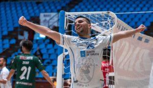 Kevin Chis, MVP del encuentro entre O Parrulo Ferrol ante O Parrulo Ferrol y Córdoba Patrimonio