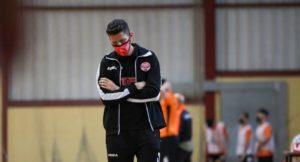 Lucas, entrenador del GANOMAGOGA IES CORUXO FS analiza el Play Off de Tercera División