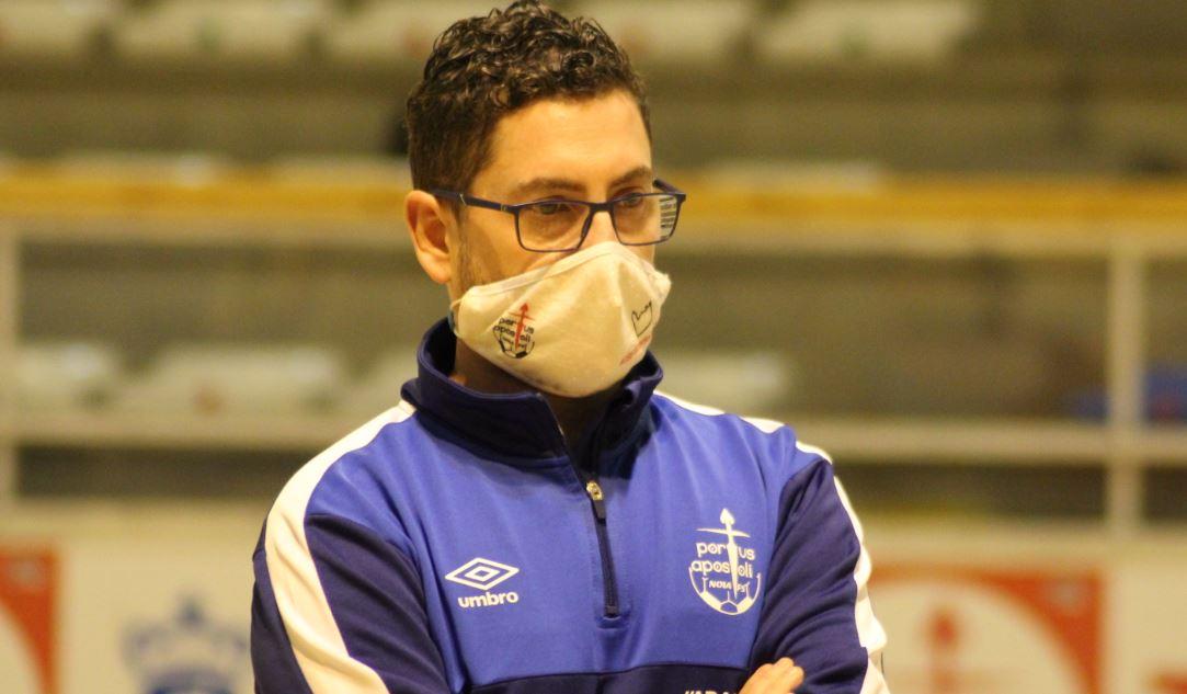 Daniel Ventoso, entrenador del Noia Portus Apostoli analiza el Play Off de Tercera División