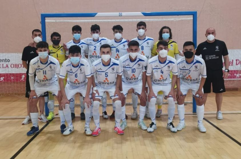 EL Gairesa O Parrulo Juvenil se codeará en Torrejón de Ardoz ante la elite del Fútbol Sala