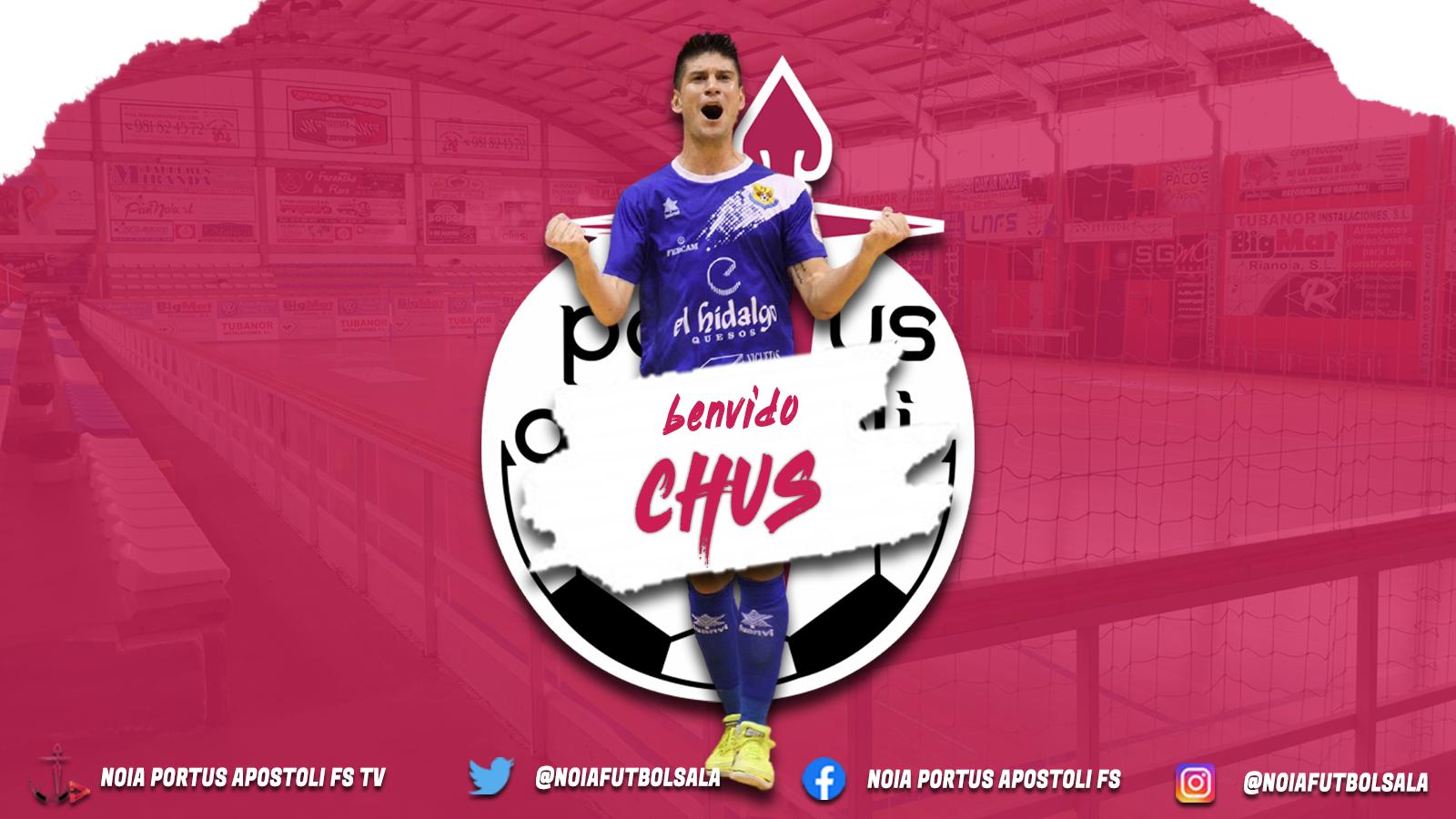 Noia Portus Apostoli incorpora a Chus, un autentico ¨goleador¨ para el equipo gallego