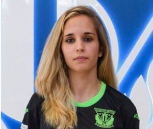 Laloma ex-jugadora del CD Leganés FSF  nueva incorporación del CD Salesianos Puertollano