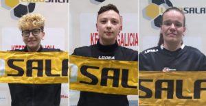 El Lugo Sala femenino confirma la renovación de tres de sus jugadoras