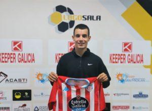 Bruno Silvén ya es jugador del CD Lugo Sala