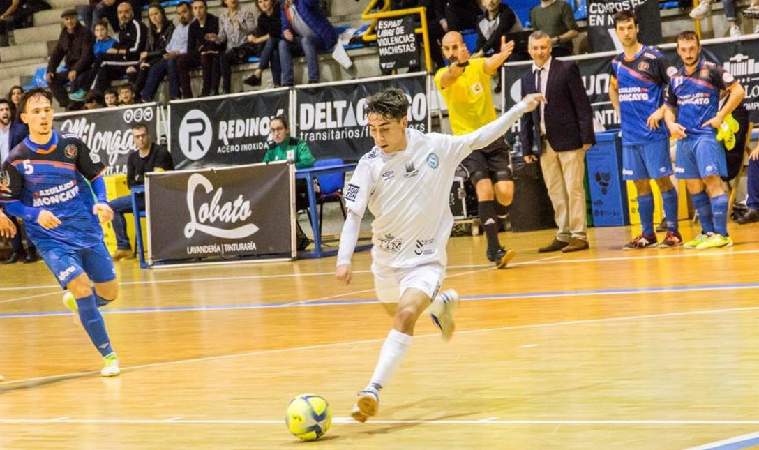 Alberto Mirás una de las ¨perlas¨ del Santiago Futsal aterriza en el O Parrulo Ferrol de Oscar Vigo