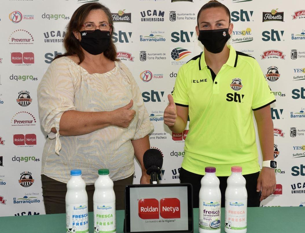 Mayte Mateo y STV Roldán siguen de la mano
