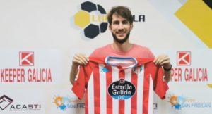 Antonio Diz regresa a la ciudad de las murallas para reforzar al CD Lugo Sala