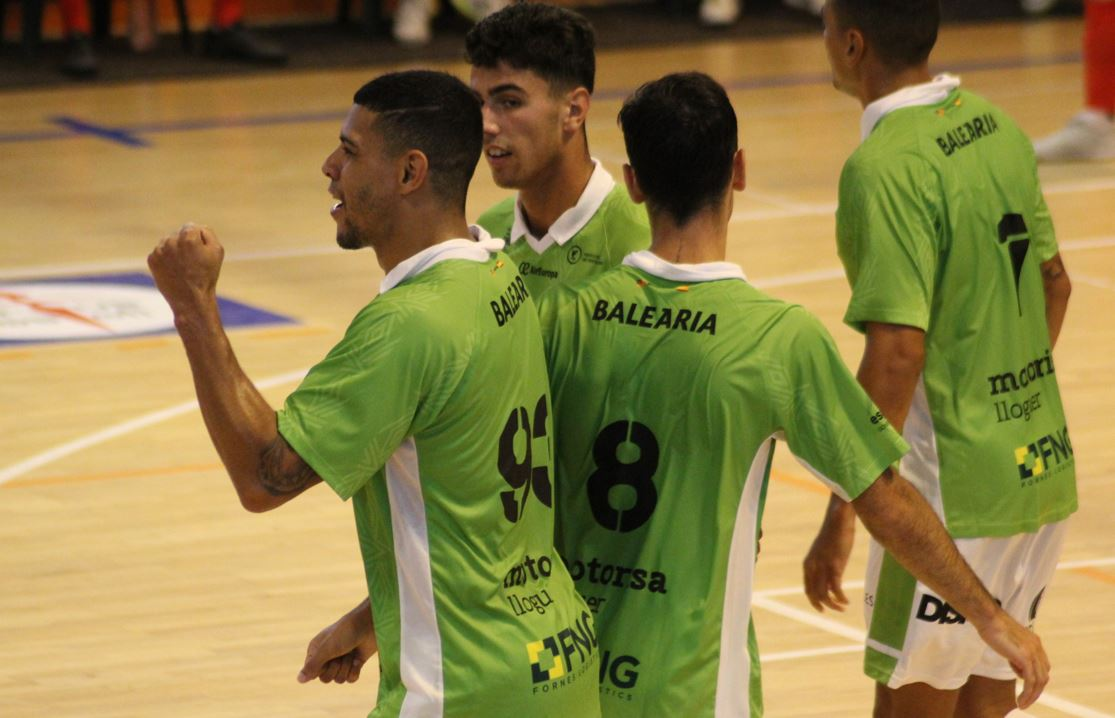 El Palma Futsal vence al SC Braga y hace pleno en el IV Trofeo Portus Apostoli