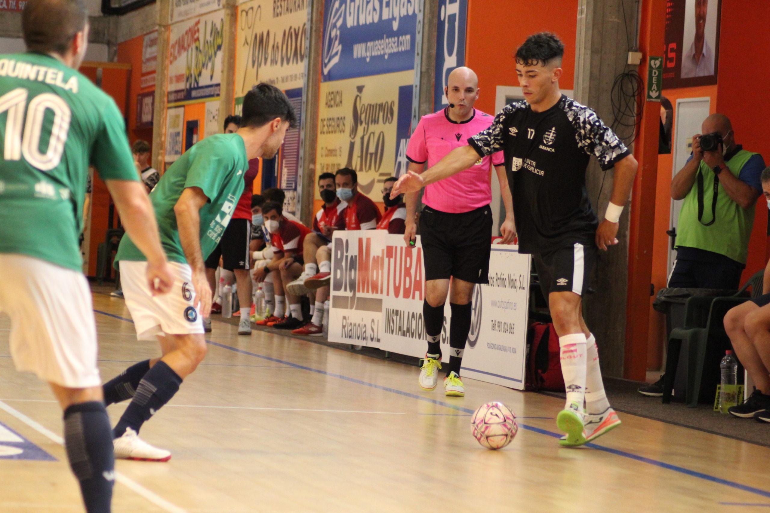 Noia Portus Apostoli supera cómodamente al Ribeira FS en un nuevo amistoso de pretemporada