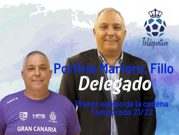 Porfirio Marrero se incorpora al cuerpo técnico del Gran Canaria Teldeportivo