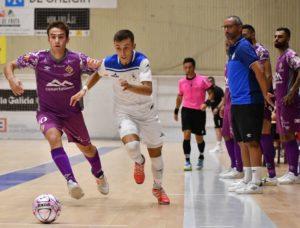 O Parrulo Ferrol a pesar de las bajas,  da una buena imagen ante el Palma Futsal en el Ciudad de Ferrol