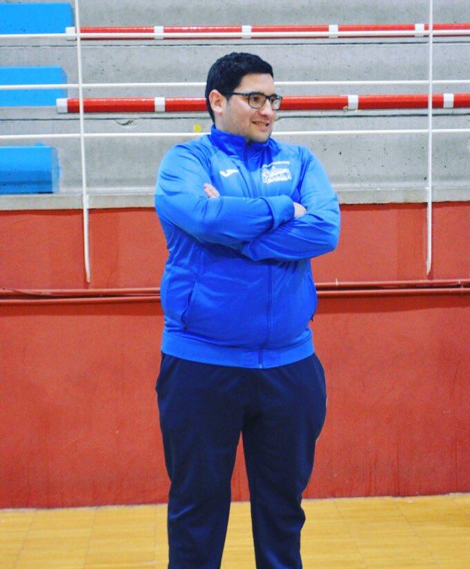 Hoy entrevistamos a Jaime Garcia entrenador del Merkocash Salesianos Puertollano