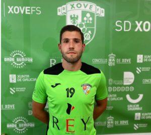 La SD Xove apuntala su proyecto en Tercera División con la llegada de Rubén Diaz