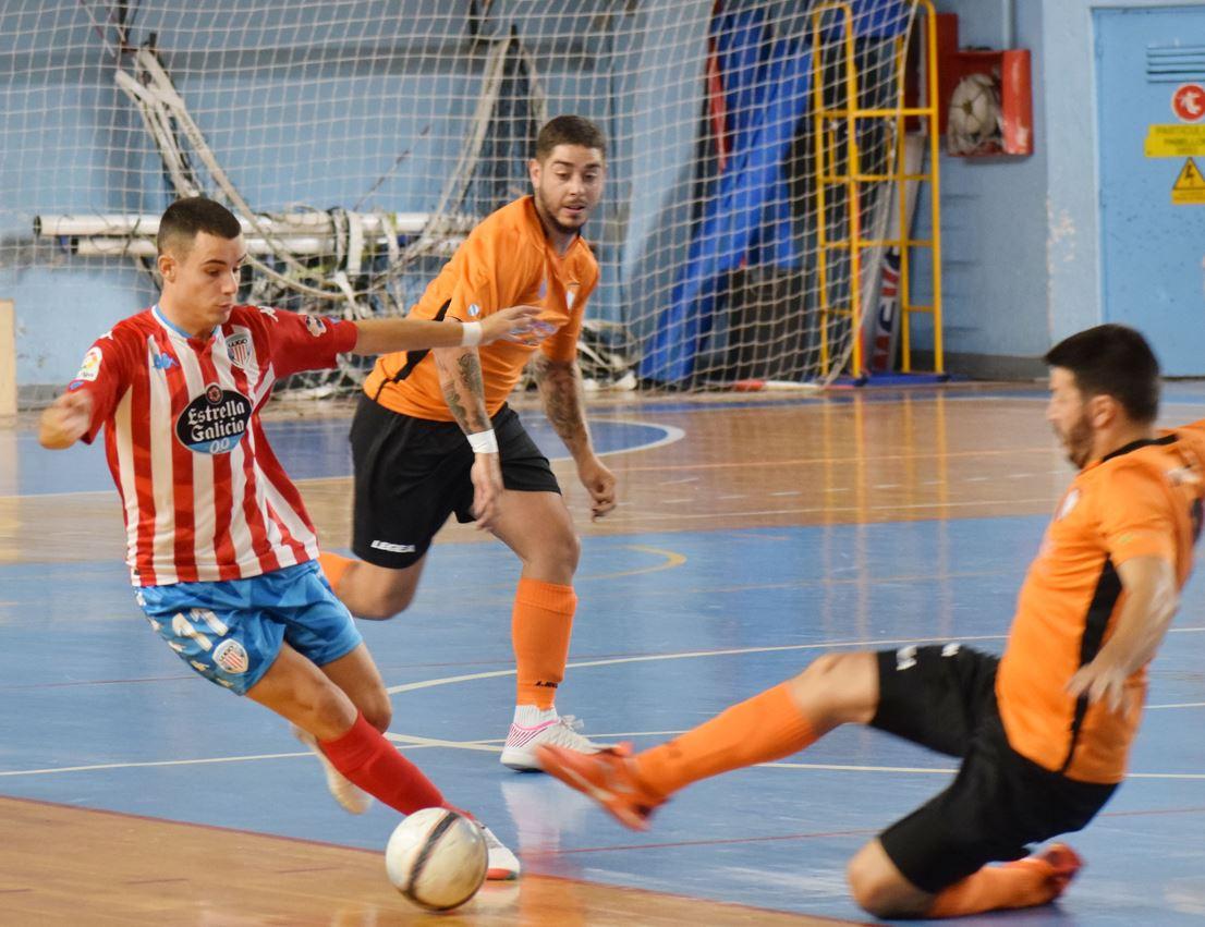 CD Lugo Sala inicia la liga con una victoria como local  ante el Campito Fútbol Sala ( 3 – 1 )