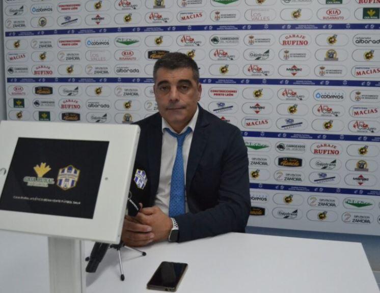 Oscar Vigo ( O Parrulo Ferrol ) ¨Valoro mucho el punto conseguido, y nuestro plan de partido se cumplió ¨