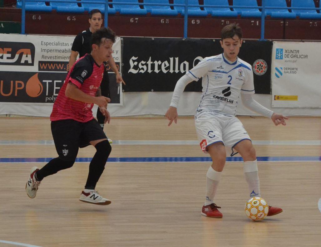 Café Candelas O Parrulo y A Estrada Futsal firman tabla en un intenso encuentro  ( 2 – 2 )
