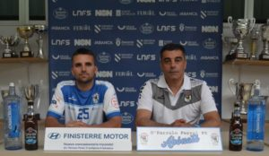 Oscar Vigo y Kevin Chis analizan la primera jornada de liga ante el Bisontes Castellón