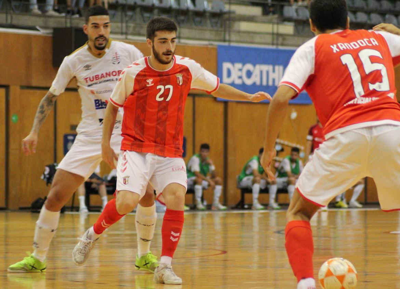 Un gran Noia Portus Apostoli vence al SC Braga portugués a domicilio ( 1 – 2 )