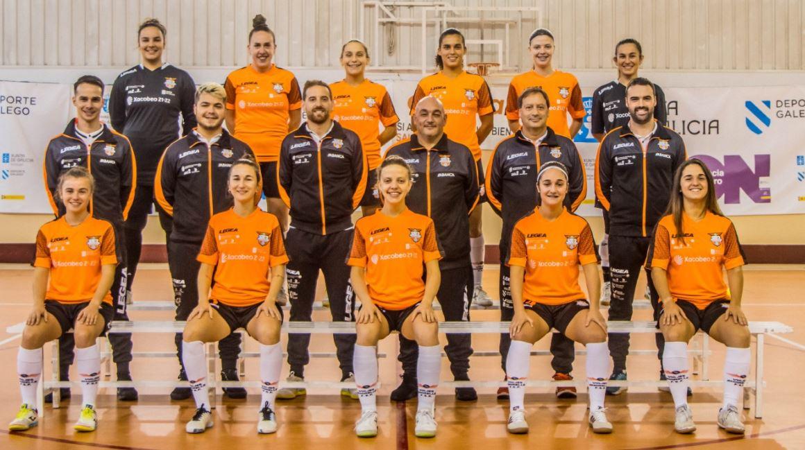 El derbi coruñes de la Segunda Femenina RFEF Futsal se lo lleva el Viaxes Amarelle ante el 5 Coruña FS