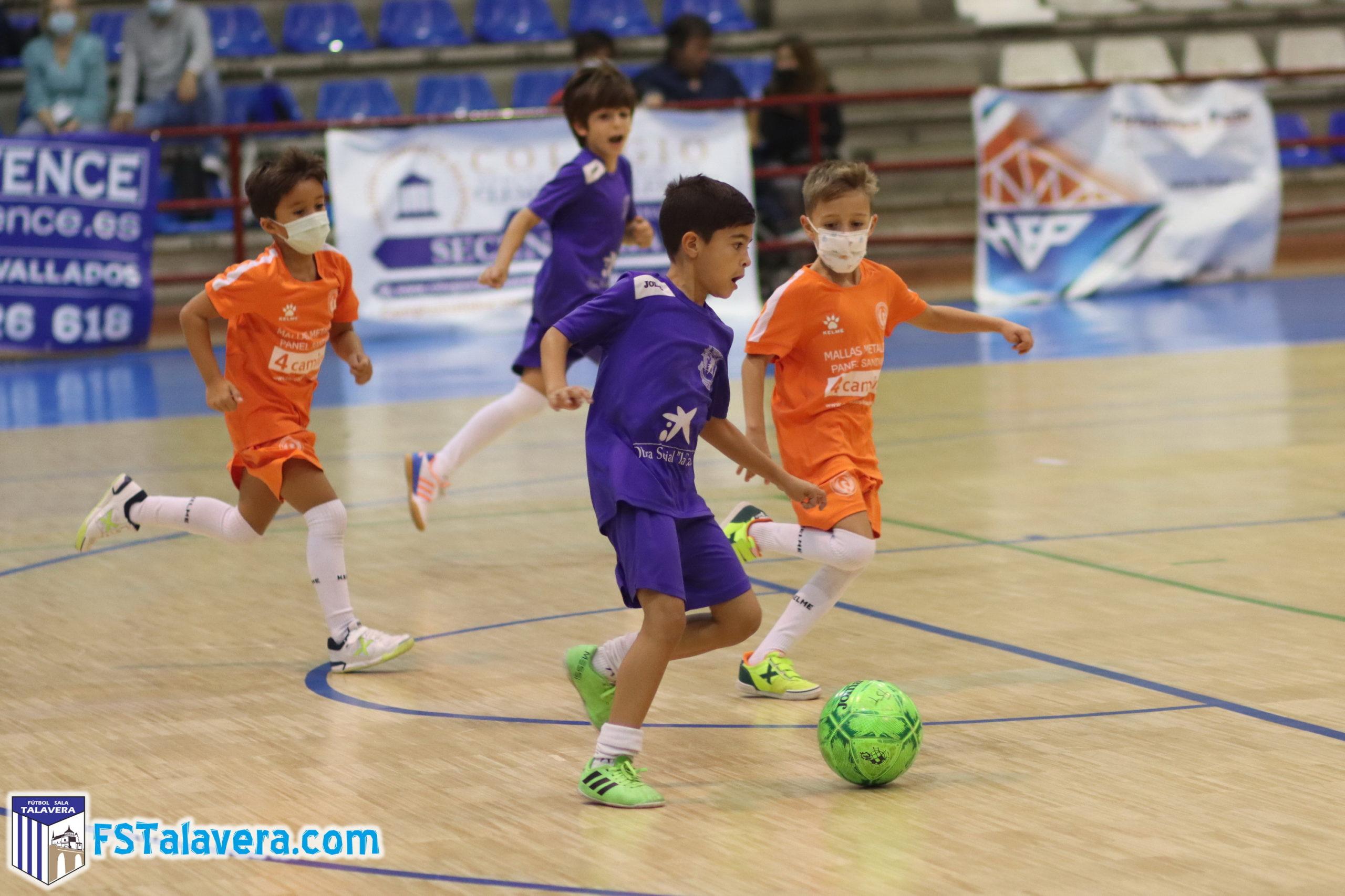 Fiesta del Fútbol Sala talaverano   El Torneo ¨Enertel¨ reunió a mas de 300 jugadores