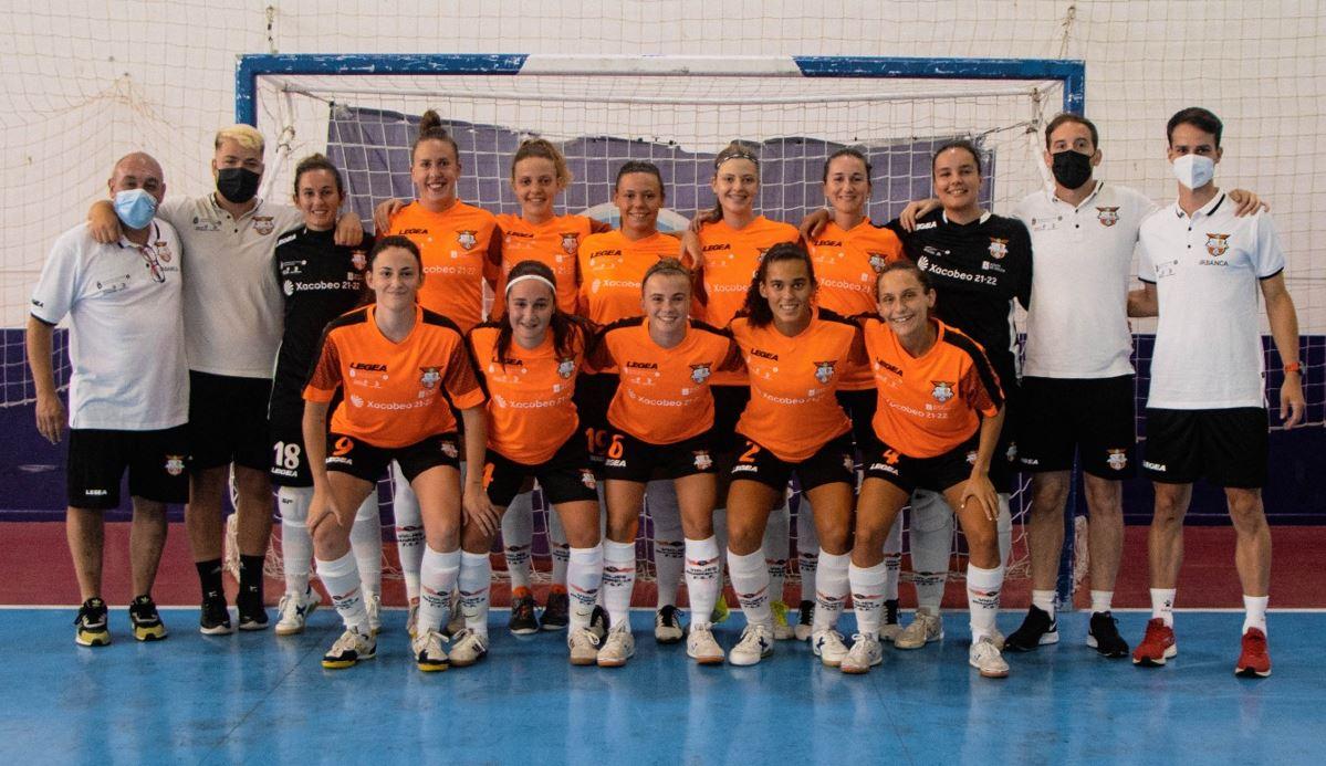 El Viaxes Amarelle inicia la Segunda Femenina RFEF Futsal ante el UDC Txantrea de Navarra