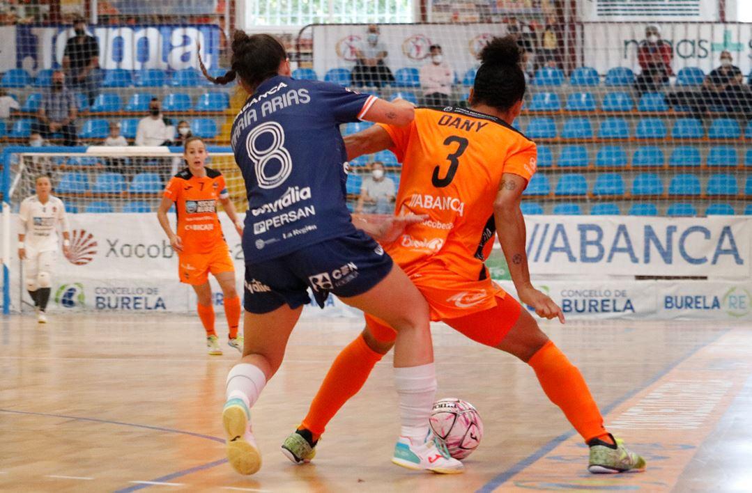 Burela Pescados Rubén vence por la mínima a un buen Ourense Envialia (3 – 2)