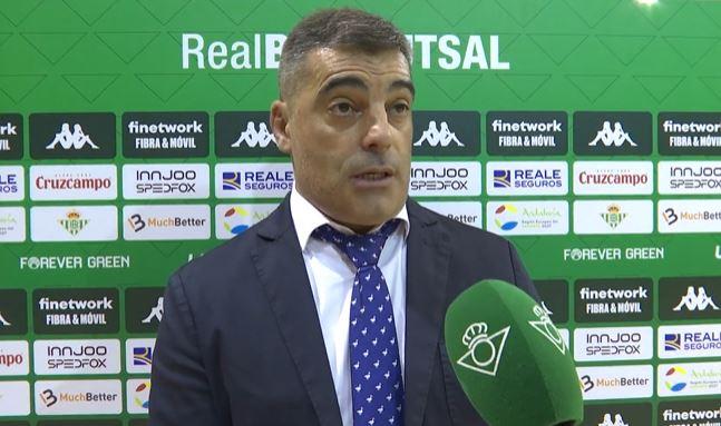 Oscar Vigo ¨ Ante el Real Betis no ha sido nuestro mejor partido, pero el empate ha sido justo ¨
