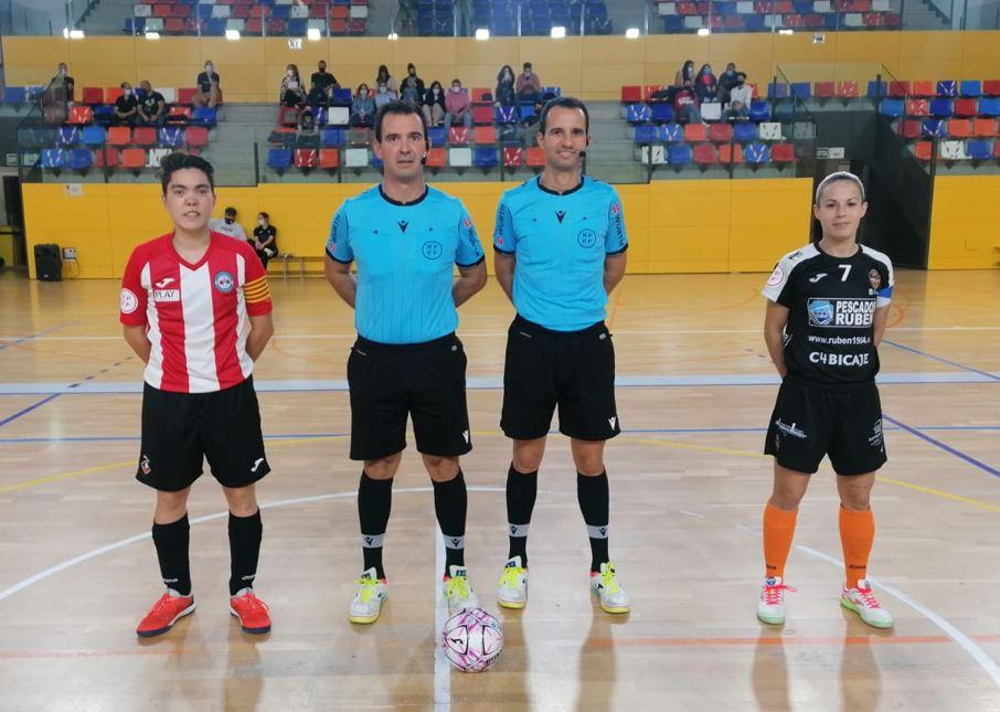 Burela Pescados Rubén consigue una contundente victoria en la cancha del Penya Splugues ( 1 – 7 )