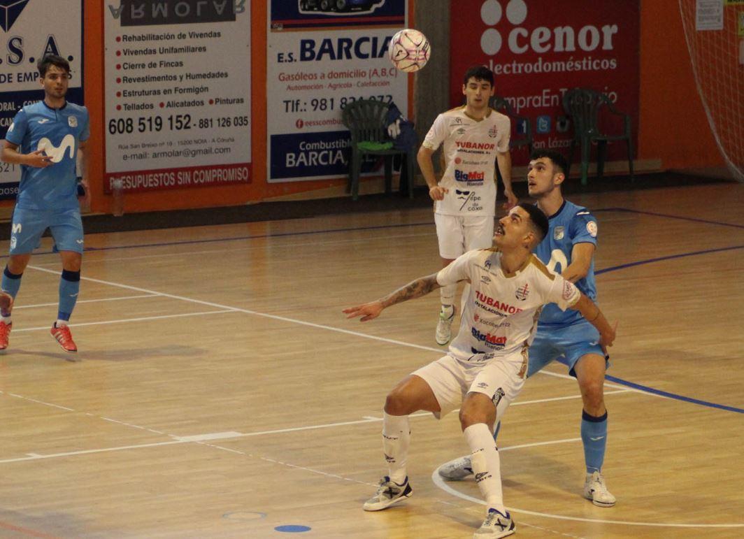 Noia Portus Apostoli vence al Movistar Inter y es líder invicto de la categoría ( 6 – 2 )