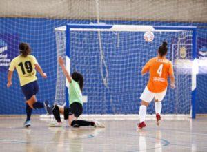 Gran Canaria Teldeportivo vence al San Fernando en un partido muy disputado