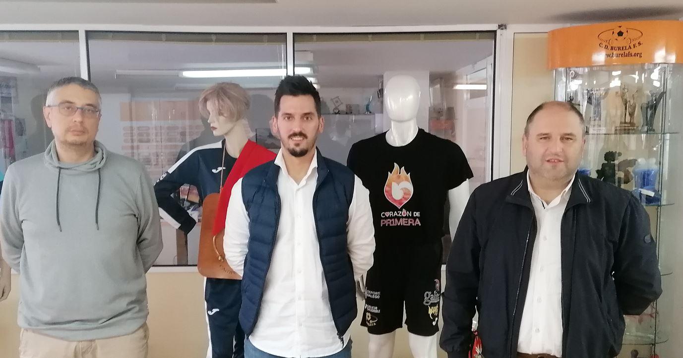 El Doctor Adrián Gallego nuevo traumatólogo del Burela Pescados Rubén